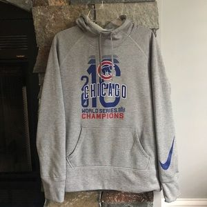 Chicago Cubs World Series Hooded Sweatshirt
